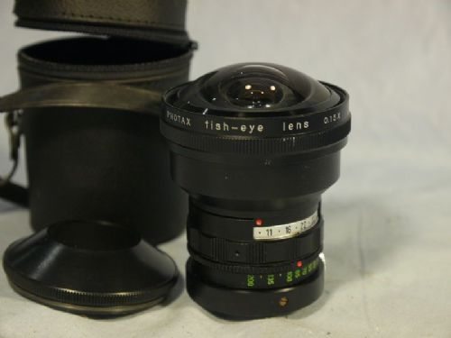 '  0.15x Fish Eye Lens ' Photax 0.15x Super Wide Fish Eye Lens £49.99